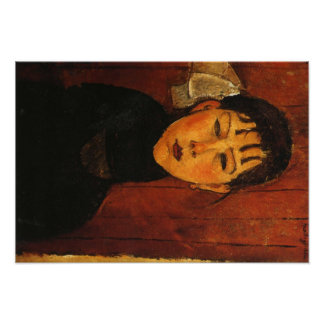 Modigliani Amedeo Portrait Poster
