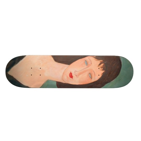 Modigliani Amedeo Portrait Skateboard Deck