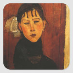 Modigliani Amedeo Portrait Stickers