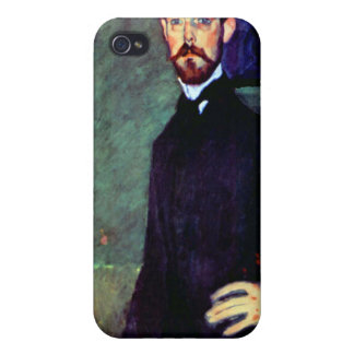 Modigliani art portrait painting Paul Alexanders Covers For iPhone 4
