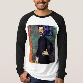 Modigliani art portrait painting Paul Alexanders T-Shirt
