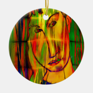 modigliani elvira ceramic ornament