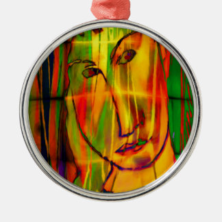 modigliani elvira metal ornament