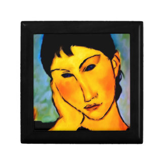 modigliani elvira-resting-at-a-table jewelry boxes