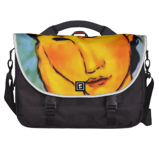 modigliani elvira-resting-at-a-table laptop bag