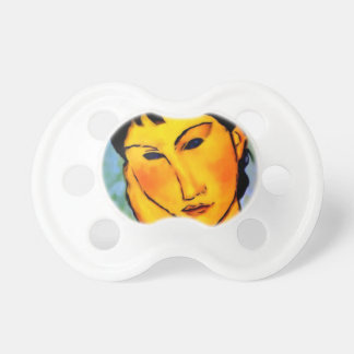 modigliani elvira-resting-at-a-table baby pacifier