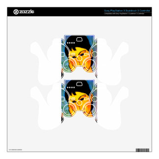 modigliani elvira-resting-at-a-table PS3 controller decals