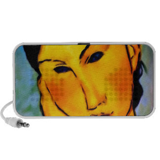 modigliani elvira-resting-at-a-table iPhone speakers