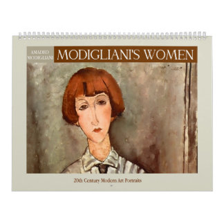 Modigliani's Women 2018 Calendar