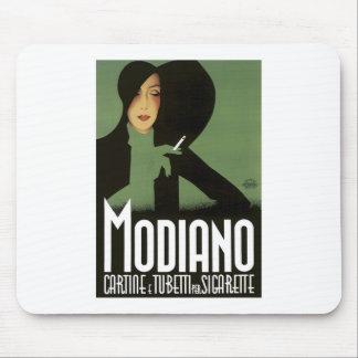 MODIGLIANO Vintage Cigarrette Art Poster print Mousepads