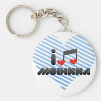 Modinha Keychain