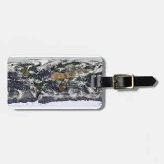 MODIS World Map Tags For Bags