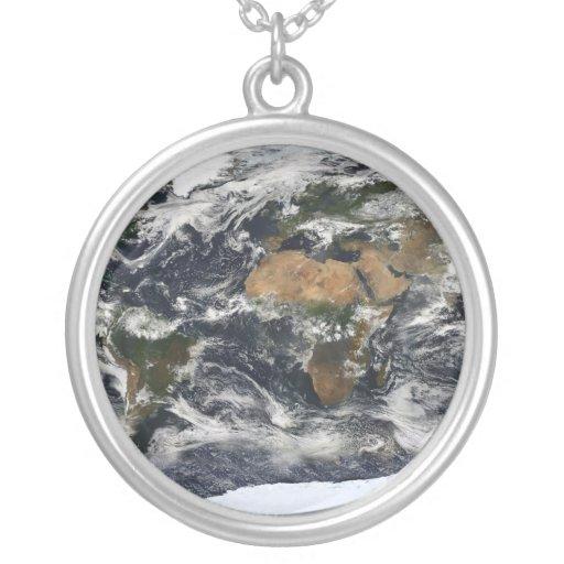MODIS World Map Pendant