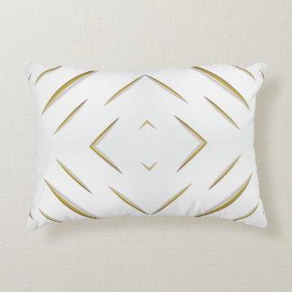 Modish Fabric Slits Decorative Pillow