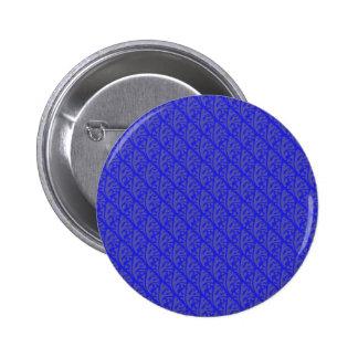 Modish purple leafs on retro blue background buttons