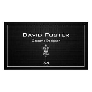 Modista del diseñador de vestuario de la película tarjetas de visita