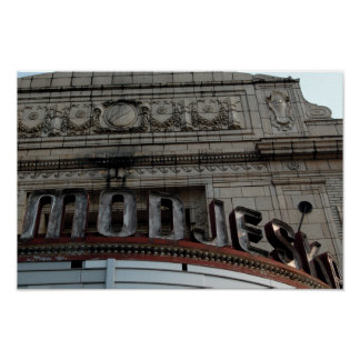 Modjeska Theater Poster