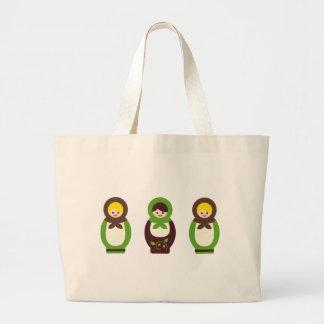 ModMatryoshka17 Large Tote Bag