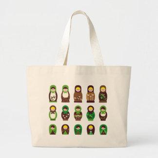 ModMatryoshka1 Large Tote Bag