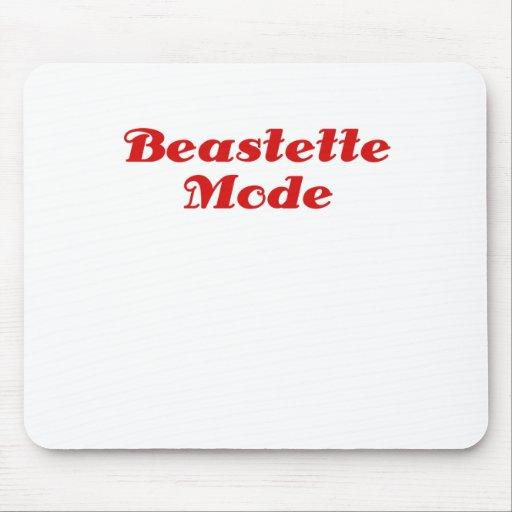 Modo de Beastette Alfombrilla De Raton