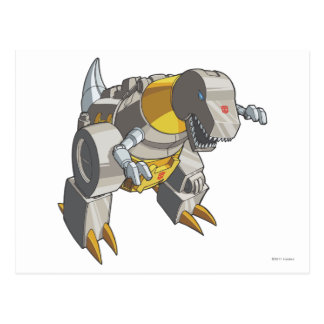 Modo de Grimlock Dino Postales