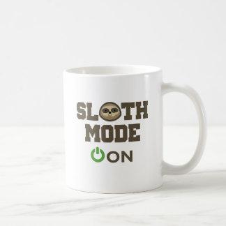 Modo de la pereza encendido tazas de café