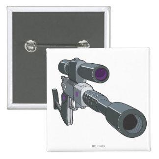 Modo del arma de Megatron Pin