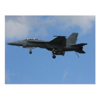 Modo del aterrizaje F18 Tarjetas Postales