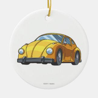 Modo del coche del abejorro adorno redondo de cerámica