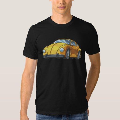 Modo del coche del abejorro playeras