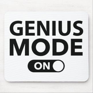 Modo del genio encendido tapete de ratones