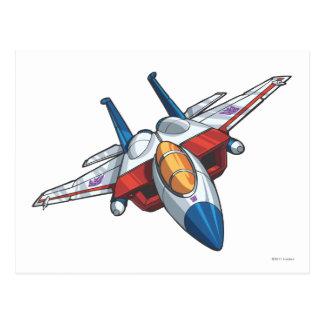 Modo del jet de Starscream Tarjeta Postal