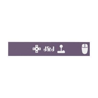 Modo multijugador en banda púrpura del Belly de la Decoración Para Invitaciones