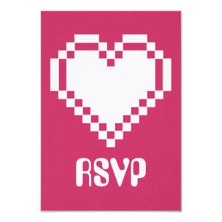 """Modo multijugador en la tarjeta de RSVP de la Invitación 3.5"""" X 5"""""""
