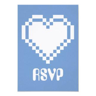 """Modo multijugador en la tarjeta de RSVP del bígaro Invitación 3.5"""" X 5"""""""