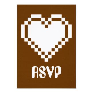 """Modo multijugador en la tarjeta de RSVP del Invitación 3.5"""" X 5"""""""
