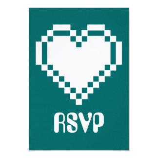 """Modo multijugador en la tarjeta de RSVP del trullo Invitación 3.5"""" X 5"""""""