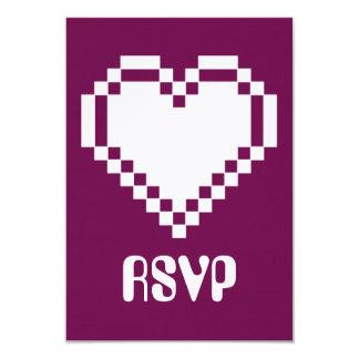 """Modo multijugador en la tarjeta de RSVP del vino Invitación 3.5"""" X 5"""""""