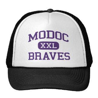 Modoc - Braves - High School secundaria - Alturas  Gorras