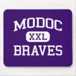 Modoc - Braves - High School secundaria - Alturas  Alfombrillas De Ratón