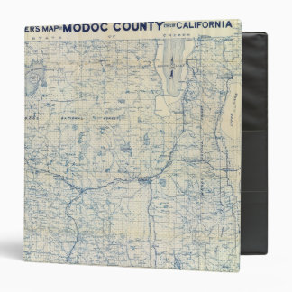 Modoc County 3 Ring Binder