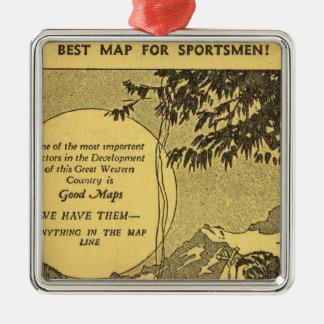 Modoc County Metal Ornament