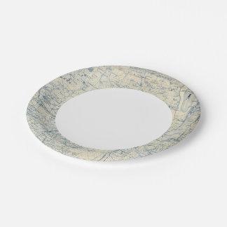 Modoc County Paper Plate
