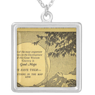 Modoc County Silver Plated Necklace