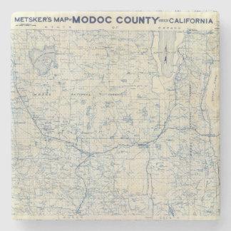 Modoc County Stone Coaster