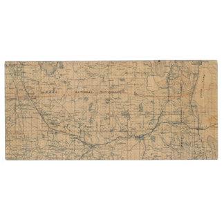 Modoc County Wood Flash Drive