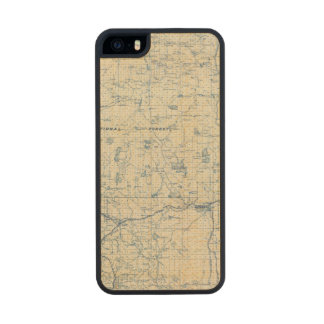 Modoc County Wood Phone Case For iPhone SE/5/5s