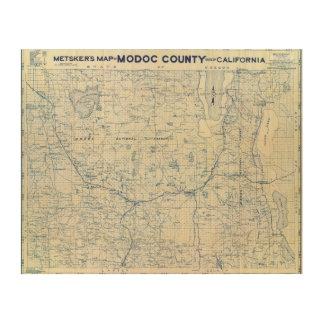 Modoc County Wood Wall Art