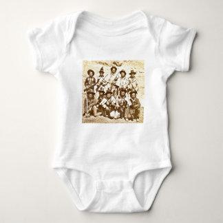 Modoc Indians by Eadweard J. Muybridge Baby Bodysuit