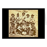 Modoc Indians by Eadweard J. Muybridge Card